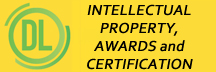 DDiode LED Intellectual Property, Awards and Certification